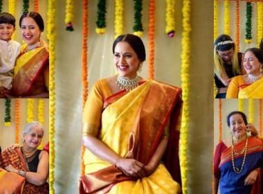 മഞ്ഞയില് സുന്ദരിയായി സമീറാ റെഡ്ഡി; ബേബി ഷവര് ചിത്രങ്ങളും വീഡിയോയും കാണാം